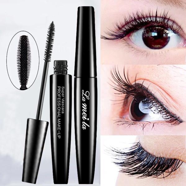 Mascara La Mei La giúp cong mi tự nhiên chuốt mi mascara lâu trôi mascara 4d JS-MS02