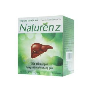 Giúp giải độc gan, tăng cường chức năng gan NATURENZ 100 Viên thumbnail