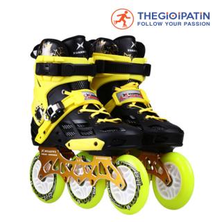 Giày Skates World X8 Trắng + Vàng + Xanh thumbnail