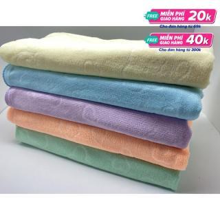 [MIỄN PHÍ VẬN CHUYỂN TOÀN QUỐC] Khăn tắm Nhật(1m4x70cm), siêu mềm mịn, siêu thấm, màu sắc đẹp thumbnail