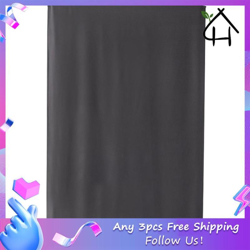 Rèm Cửa Sổ Tự Dính Màu Xám Rèm Cửa Sổ Cho Phòng Tắm Shades
