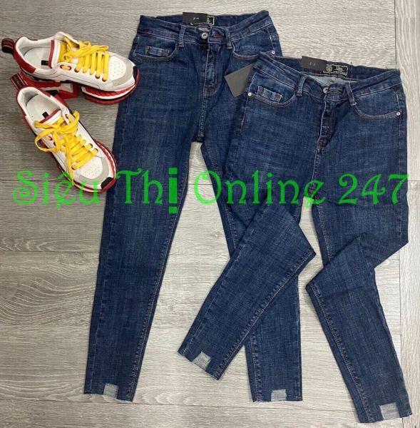 Quần Jean Nữ Thời Trang ST 0056 (Có Size Đại) - Hoặc Áo Thun Trắng