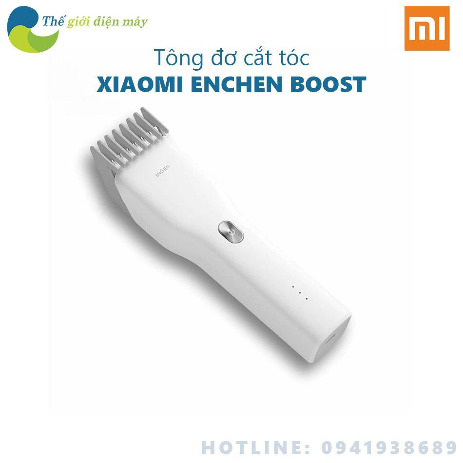 Tông đơ cắt tóc Xiaomi Enchen Boost - Enchen Boost Hair Clipper - Bảo hành 6 tháng - Shop Thế giới điện máy cao cấp
