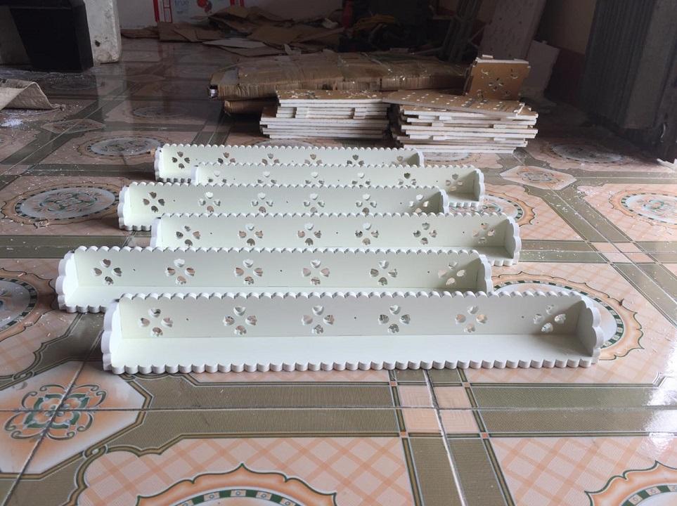 Combo 6 thanh kệ đựng sơn treo tường 60cm tốt nhất