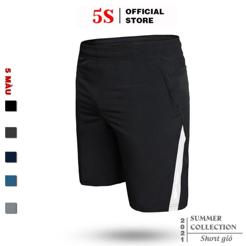 Nơi bán Quần Short Thể Thao Nam 5S (5 màu), Vải Gió Thoáng Mát, Lưng Chun Thoải Mái (QSG21007-01)