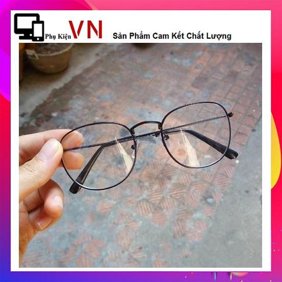 Mắt kính Ngố Nobita Không độ thời trang (Đen)