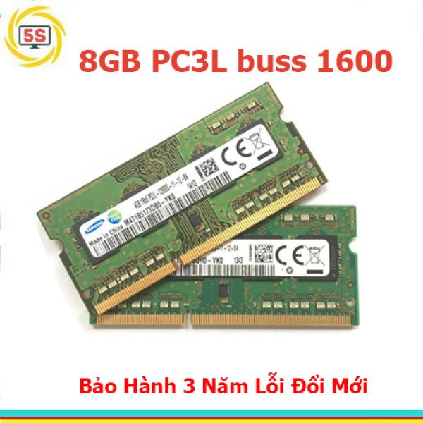 Bảng giá Ram Laptop Ddr3L Samsung 8Gb Buss 1600-Bh 3 Năm Phong Vũ