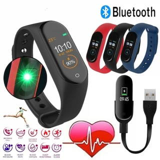 [Chuẩn Nhập] Vòng đeo tay thông minh Smart Band M3 Đo Nhịp Tim kết nối Bluetooth.Đồng hồ Thông Minh Chống Nước Vòng Tay Đồng Hồ Dây Đeo Tay Tập Thể Thao, Vòng Theo Dõi Sức khỏe, Vòng Theo dõi vận động, BH 1 Đổi 1 thumbnail