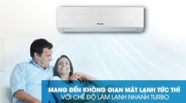 Bảng giá Máy lạnh, điều hòa Gree 18000BTU. 2 HP, GWC18KD-K6N0C4(I/O) Mới 2020, Công suất tiêu thụ điện trung bình:1.6 kW/h Nhãn năng lượng tiết kiệm điện:2 sao (Hiệu suất năng lượng 3.31)