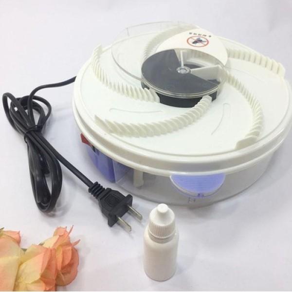 Máy bắt ruồi, côn trùng tự động xoay 360 thông minh, thiết bị bắt ruồi bằng mồi nhử hiệu quả, không gây bốc mùi, vệ sinh máy dễ dàng - Cách diệt côn trùng, ruồi hiệu quả tại nhà, Máy diệt ruồi giá rẻ, Máy bẫy ruồi