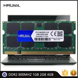 HRUIYL Memory Ram DDR2 800MHZ 1GB 2GB 4GB 1.8V Sodimm Notebook High Performance PC2 6400S 200Pin Laptop Memoria Stick New thumbnail
