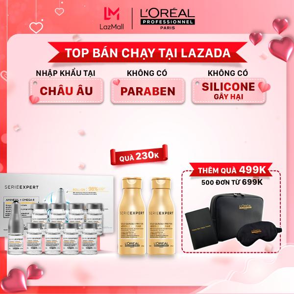 Tinh chất giảm rụng tóc LOreal Professionnel Aminexil Advanced LOréal 10x6ml