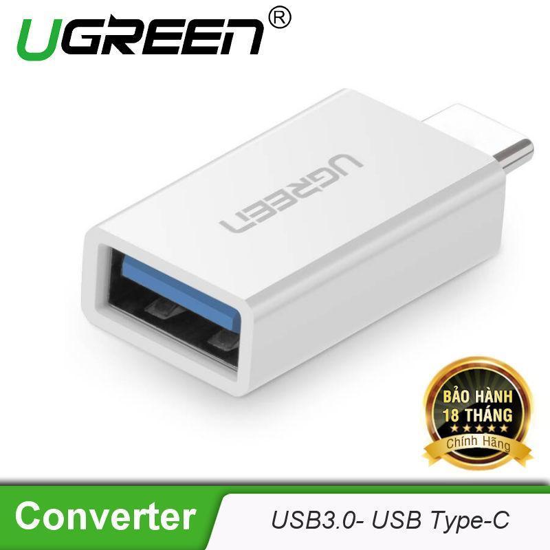 Bảng giá Đầu chuyển Type C sang USB 3.0 UGREEN US173 - Hãng phân phối chính thức Phong Vũ