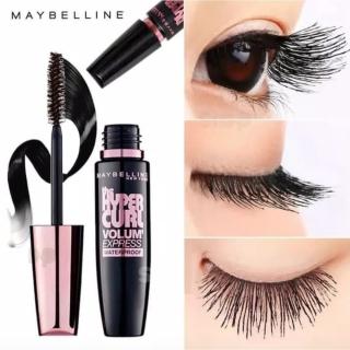 Mascara Maybeline Làm Dài và Cong Mi Hyper Curl Chính Hãng, Không Trôi, Tạo Đôi mắt Đẹp Và Quyến Rũ thumbnail