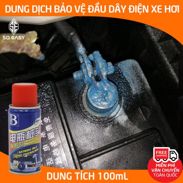 Dung dịch bảo vệ cực bình ắc quy chống ăn mòn BOTNY Battery pile head protector 100ml, Chai xịt phủ bảo vệ và tránh ăn mòn cọc bình ắc quy-B-2002