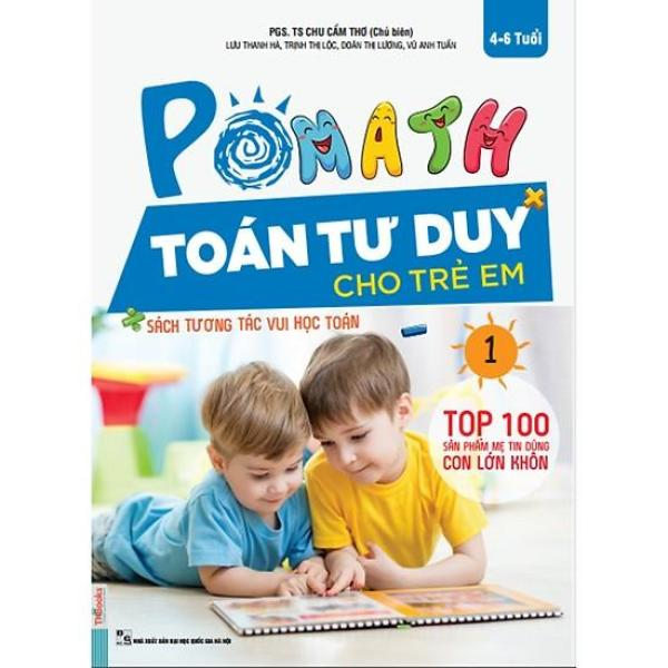 Mua POMath - Toán Tư Duy Cho Trẻ Em 4-6 Tuổi (Tập 1)