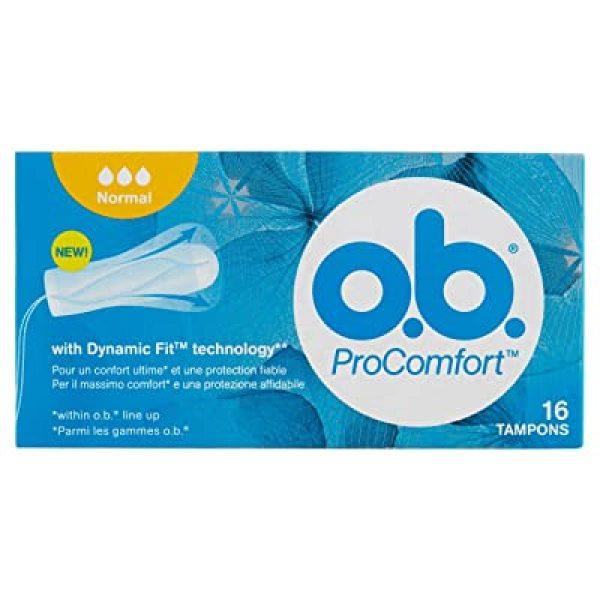 Tampon OB - Băng vệ sinh Tampon ob Normal Procomfort 16st - Băng vệ sinh dạng nút - Nội địa Đức giá rẻ