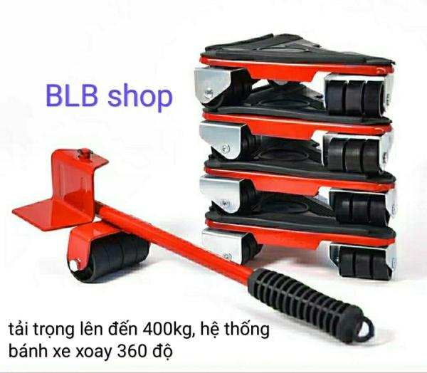 Hahoo - Bộ dụng cụ nâng vật nặng thông minh (tải trọng lên đến 400kg)