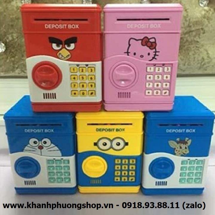 két sắt mini - két sắt mini đựng tiền cho bé