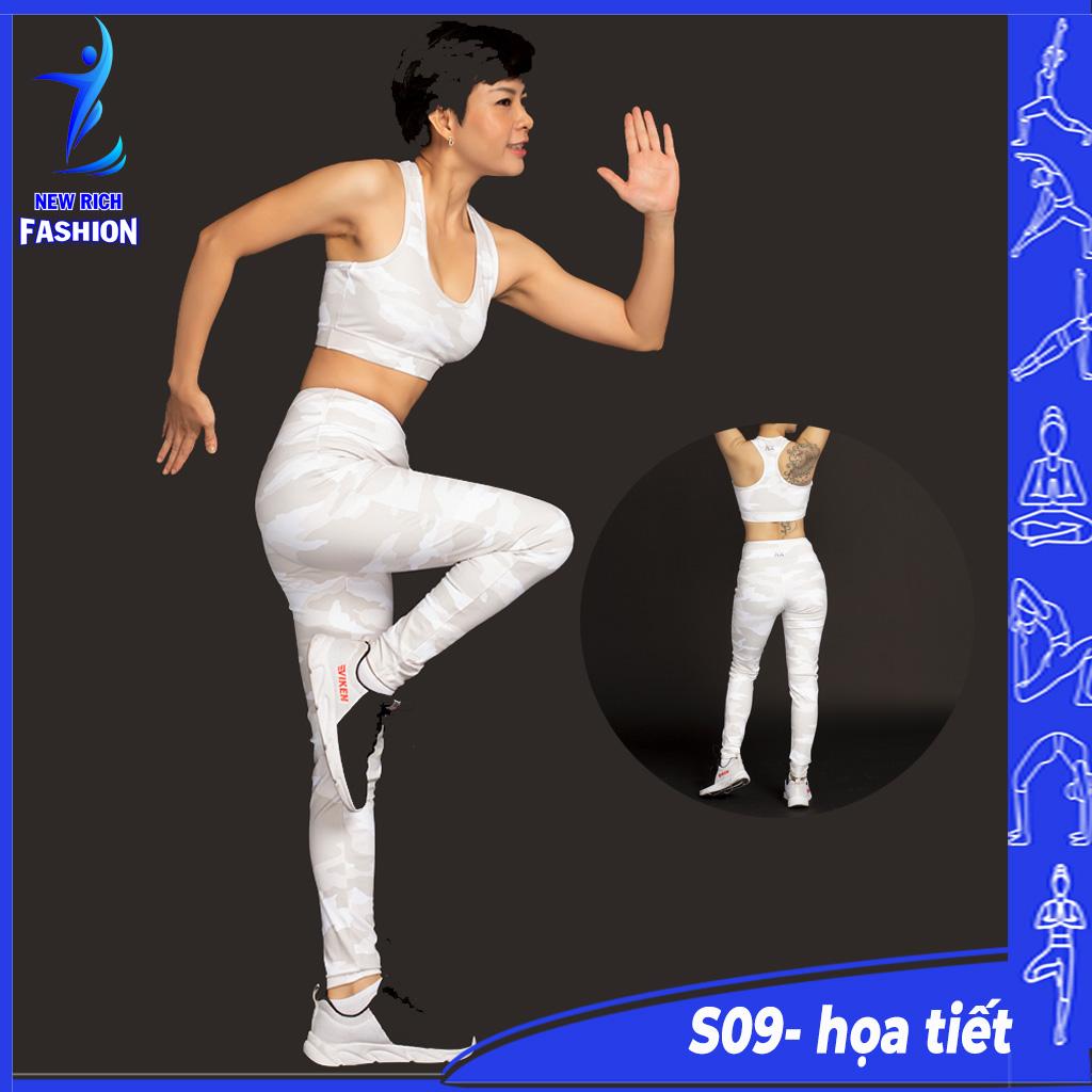 Đồ tập gym nữ cao cấp - Thời trang thiết kế chuyên dụng, vải mềm mịn, co giãn 4 chiều