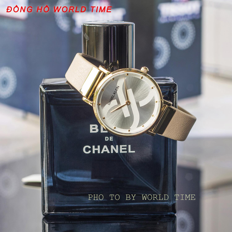 Nơi bán Đồng hồ nữ Daniel Klein DK11824-2 [ Full Box,Thẻ BH Hãng 3 Năm ] - Kính Cứng, Chống Nước, Chống Xước. Dây Da