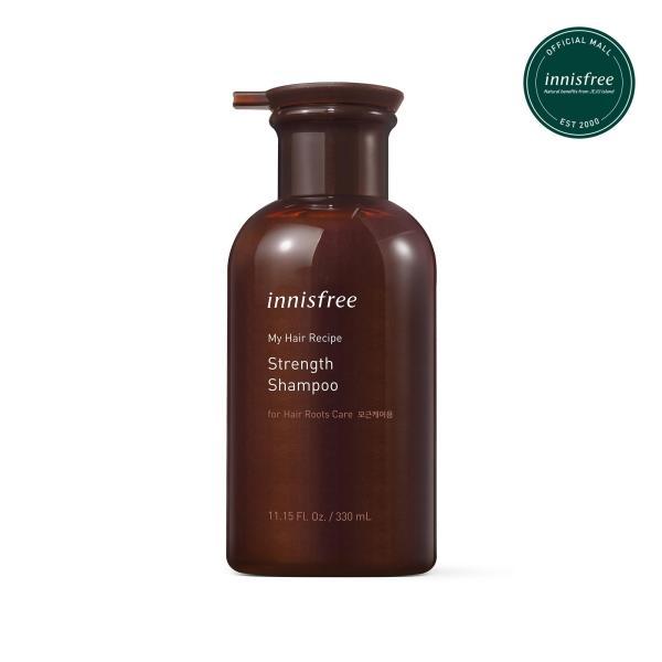 Dầu gội nuôi dưỡng chân tóc yếu innisfree My Hair Recipe Strength Shampoo 330ml giá rẻ