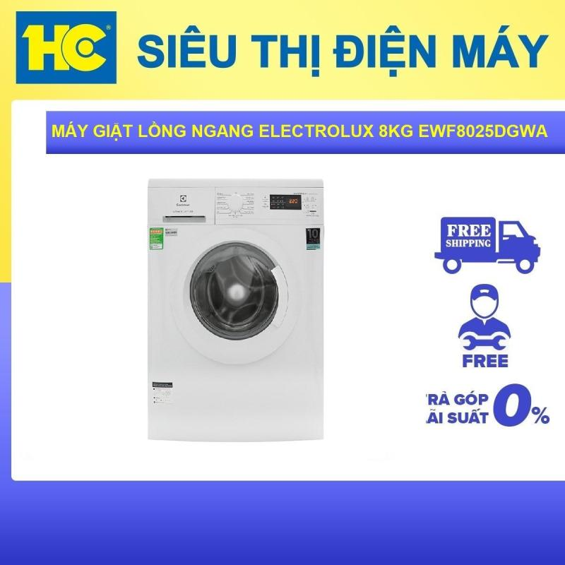 Bảng giá Máy giặt lồng ngang Electrolux Inverter 8 Kg EWF8025DGWA Trắng Điện máy Pico