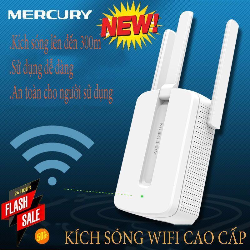 Giá Kích sóng wifi, Wifi thần tốc, Bộ kích sóng wifi MERCURY 3 RÂU loại cao cấp,kích sóng lên đến 300m,sóng ổn định,là SP top1 thế giới, BH 1 ĐỔI 1,SALE 50%
