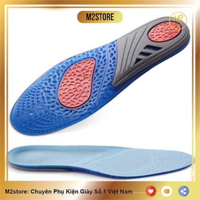 Lót giày êm chân thể thao Silicon khử mùi cao cấp LGEC03 giá rẻ