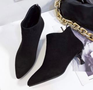 Giày bốt da lộn mùa đông cao cấp