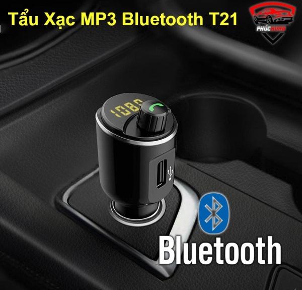 Dock, Tẩu Sạc MP3, Cốc Sạc, Phát Bluetooth Trong Ô Tô Xe Hơi AGETUNR T21 Chính Hãng