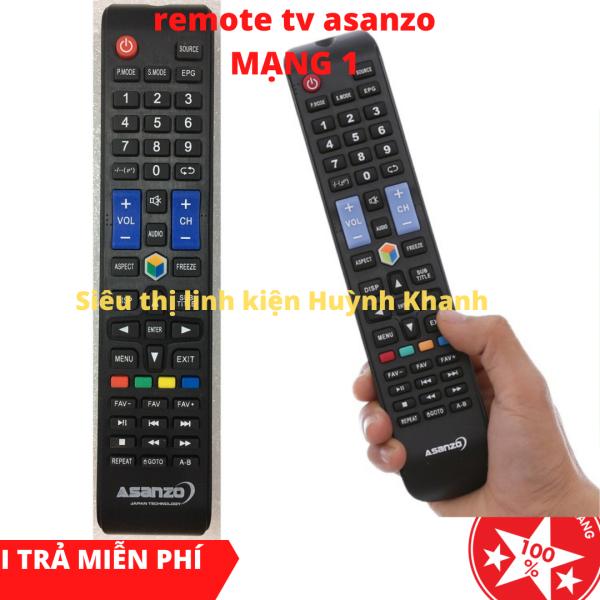 Bảng giá REMOTE TV ASANZO MẠNG 1 SIÊU BỀN CHÍNH HÃNG