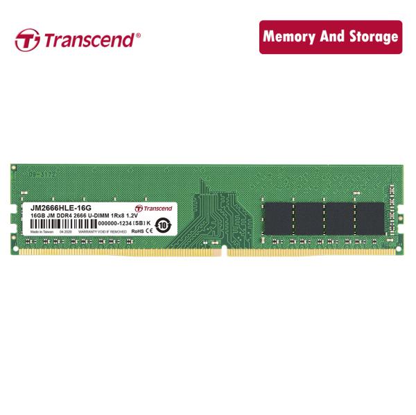 Bảng giá Ram Transcend DDR4 16GB 2666Mhz U-DIMM chính hãng Phong Vũ