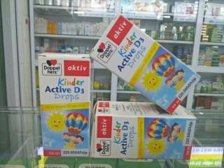 kinder Active D3 Drop nhập khẩu từ Đức thumbnail