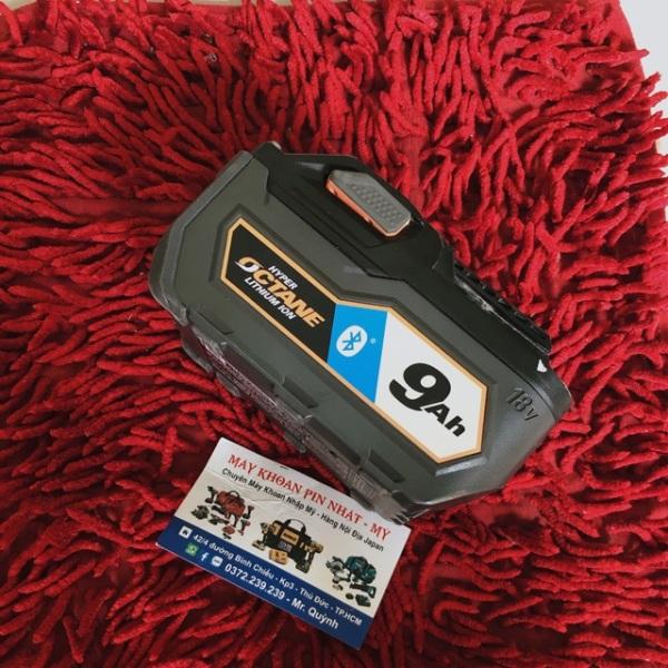 Bảng giá Pin octane Ridgid 9A hàng my 95-98%