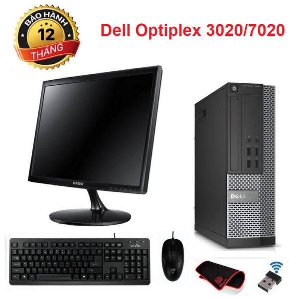 Bảng giá Bộ máy tính văn phòng Dell Optiplex 3020/7020 SFF CPU intel core i5 4570 / Ram 8gb SSD 120gb. Màn hình 22 inch. Quà Tặng Phong Vũ