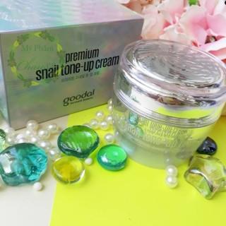 Kem Dươ Ng Tră Ng Da Cao Câ P Goodal Premium Snail Tone-Up Cream thumbnail
