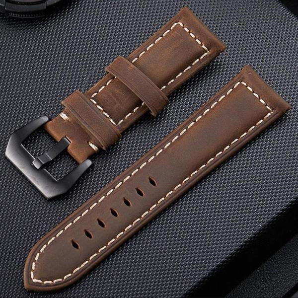 Nơi bán [ SAM Leather ] Dây Đồng Hồ Da Bò – Dây Da Đồng Hồ SAM003NW Size 20mm,22mm – Da Bò Thật Bảo Hành 12 Tháng Chính Hãng