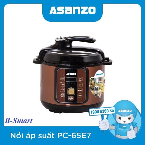 Nồi Ấp Suất Điện Đa Năng Asanzo PC-65E7