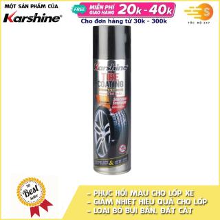 Dung dịch phục hồi và dưỡng lốp ô tô Karshine KA-TC500, Bảo vệ lốp xe khỏi các tác nhân gây hại như axit, kiềm, nhiệt, tia cực tím thumbnail
