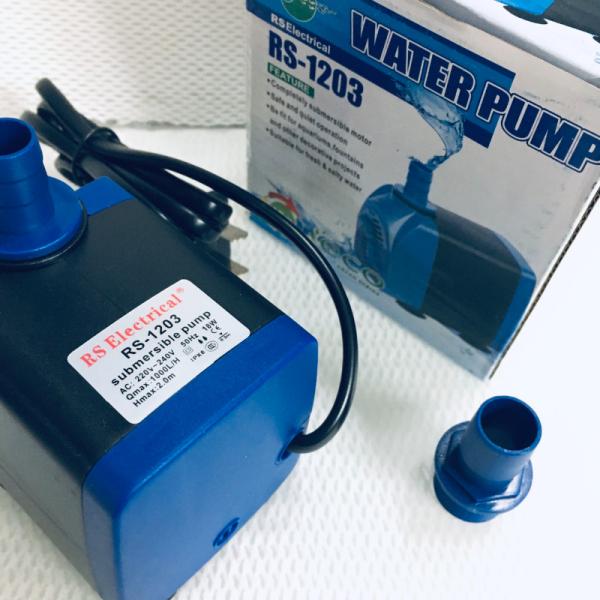 Máy bơm nước bể cá RS-1203, hàng cao cấp nhỏ gọn (18W, 1000L/H)