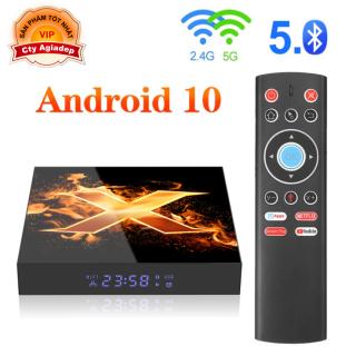 Tivi Box Android 10 có Bluetooth + Nhận dạng giọng nói Voice Vonta Giormani X1 thumbnail