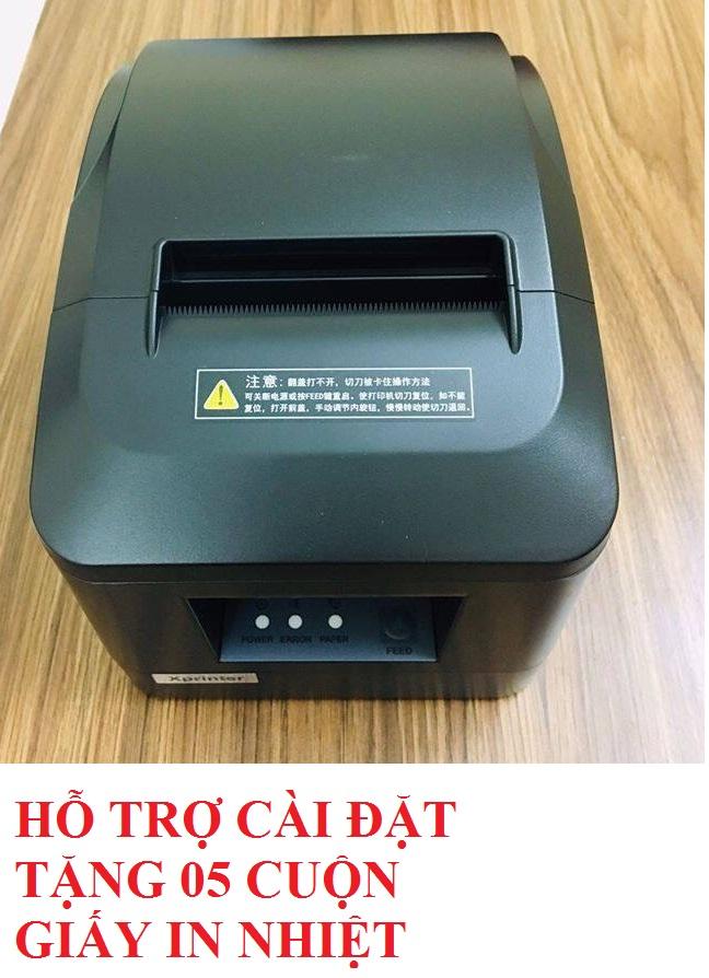 Giá Máy in hóa đơn Xprinter XP-A160M