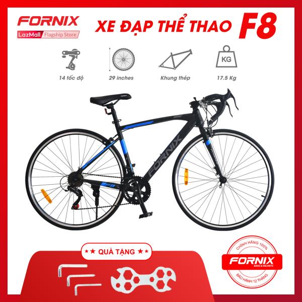 Phân phối Xe đạp thể thao Fornix F8 - Vòng bánh 700C (KÈM SÁCH HƯỚNG DẪN)- Bảo hành 12 tháng  +Tặng(  Bộ lắp ráp)
