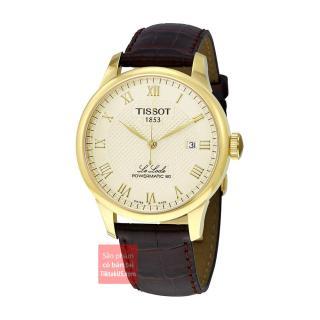 Đồng hồ đeo tay nam Tissot Le Locle dây da T006.407.36.263.00 ( Gold) thumbnail