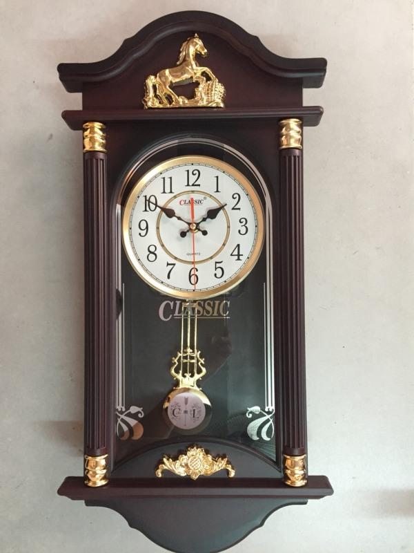 Nơi bán [MẪU BÁN CHẠY NHẤT] Đồng hồ quả lắc sang trọng - Tặng kèm pin