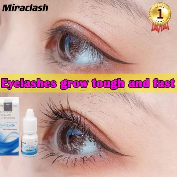 [HCM]Miraclash Serum làm dài và dày mi chăm sóc mắt cho đôi mắt quyến rũ - 3ml