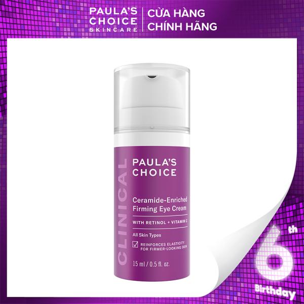 Kem Dưỡng Mắt chống chảy xệ và xóa bọng mắt Paulas Choice Clinical Ceramide – Enriched Firming Eye Cream 2160 giá rẻ