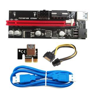 Thẻ đồ họa PCI-E Riser 009S 16X cổng USB 3.0 dành riêng cho bộ điều hợp cáp mở rộng PCIE chất lượng cao 2