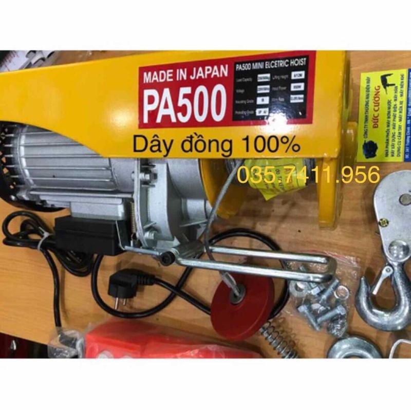 máy tời điện máy tời treo máy tời gia đình pa500 - máy tời pa500